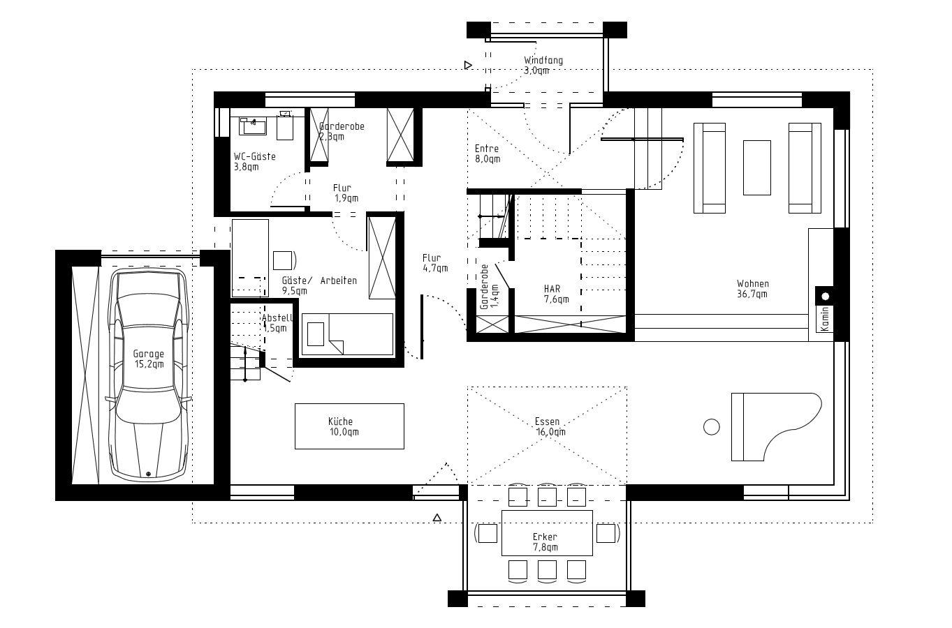 bauantrag planungsb ro genehmigungsplanung villen projekte haubau baugenehmigung. Black Bedroom Furniture Sets. Home Design Ideas